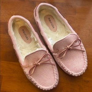 Maurices Harlow Flannel Slipper Moccasin